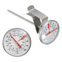 Термометр для молока с клипсой